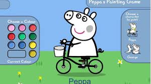 peppa pig colouring kids coloring europe travel