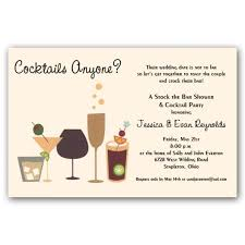 stock the bar party cocktails anyone stock the bar shower invitations paperstyle