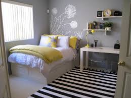 Yellow Bedroom Decorating Ideas Small Teenage Bedroom Decorating Ideas Home Design Ideas