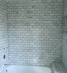ceramic tile ideas for small bathrooms hall bath before and after