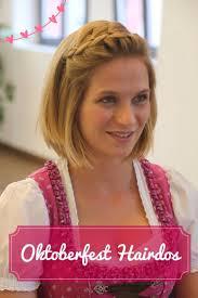 Kurzhaarfrisuren Oktoberfest by 8 Best Oktoberfest Frisuren Hairstyles Images On Html