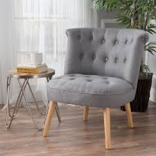 Tufted Accent Chair Cicely Tufted Fabric Accent Chair By Christopher Home