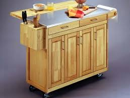 mobile island for kitchen wood color mobile kitchen island marti style