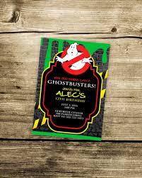 goody u0027s black friday 2016 ghostbusters party invitations free printable invitation design