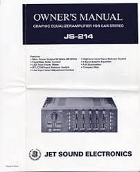solved jet sound equalizer js 214 wire color code fixya