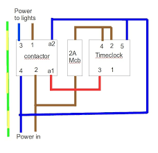 lighting contactor wiring diagram u0026
