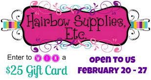 hairbow supplies affordable hairbow supplies giveaway of a