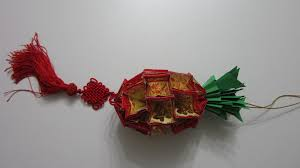Make Lunar New Year Decorations by Cny Tutorial No 7 Chinese New Year Craft The Pineapple Youtube