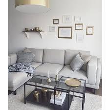 und sofa ikea nockeby sofa traum naturtöne kombiniert mit etwas gold und