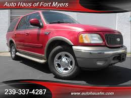 ford expedition red 2002 ford expedition eddie bauer ft myers fl for sale in fort