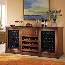 incredible portable kitchen island with wine cellar combined