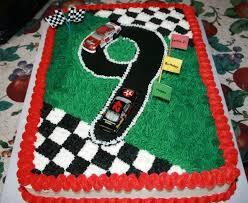 nascar 7 year old birthday cake nascar birthday cake