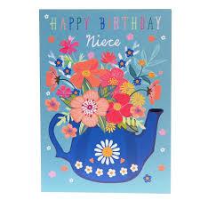happy birthday niece card elsie u0026 fleur