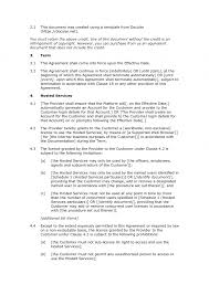 licensing agreement template free license agreement template