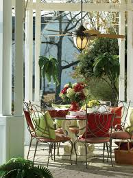 sensational porch design dining table ideas presenting