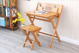 kids fold up table and chairs modern bamboo computer desk folding table bamboo furniture children
