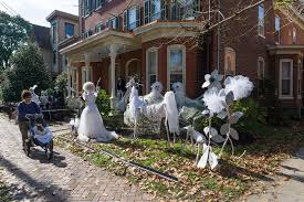 decorate house for halloween outdoor halloween decoration good