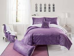 girls pink and purple bedding chic bedroom decor with pink stained wooden single bed master
