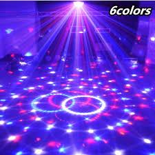 magic laser christmas lights 6 colors magic crystal ball disco led light party christmas laser