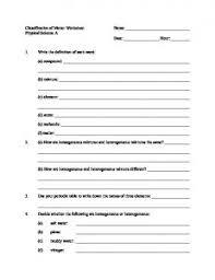 worksheet 2 physical chemical name