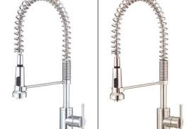 pre rinse kitchen faucets tremendeous kraus commercial style single h kitchen faucet w pull