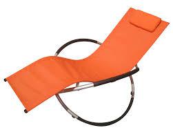 rocking recliner garden chair furniture foxhunter zero gravity recliner garden folding recliner