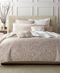 Taupe Duvet Charter Club Damask Designs Paisley Taupe Twin Duvet Set Only At