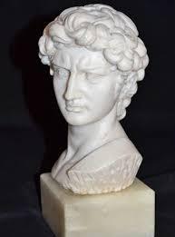 1960s alabaster u0026 marble michelangelo u0027s david neoclassical