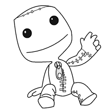 little big planet coloring pages funycoloring