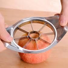 cutter de cuisine stainless steel apple slicer vegetable fruit pear apple cutter