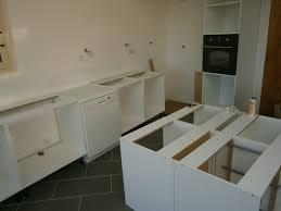 montage d une cuisine montage d une cuisine avec façades en chêne