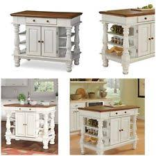 home styles kitchen islands home styles americana antiqued white kitchen island ebay