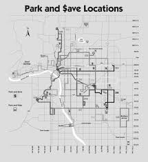 Tulsa Map Park And Ride Tulsa Transit