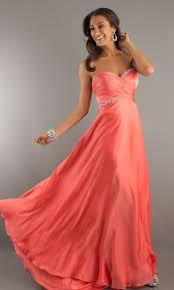 Awesome Prom Dresses Salmon Colored Prom Dresses Vosoi Com