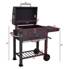 Backyard Barbecue Grills Goplus Op3307 Charcoal Grill Barbecue Bbq Grill Outdoor Patio