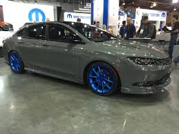 2015 Chrysler 200s Interior 2015 Chrysler 200s Las Vegas Sema Show