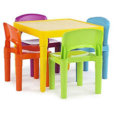 table and chairs for 6 year old chairs and table for 6 year old kids amazon com