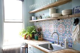 Colorful Backsplash View In Gallery Let The Colorful Backsplash - Colorful backsplash tiles