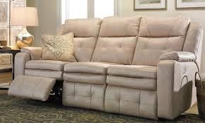 Kingvale Power Recliner Genella Power Reclining Sofa With Power Headrest And Usb Power