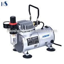 as18 2 airbrush compressor with air filter for food color and