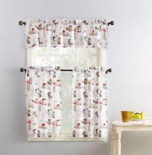 coffee kitchen curtains tier set lichtenberg mocha latte coffee kitchen curtains 24l ebay