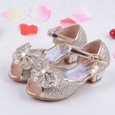 wedding shoes for enfants 2016 children princess sandals wedding shoes