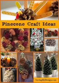 pine cone turkey place card holders family crafts instead