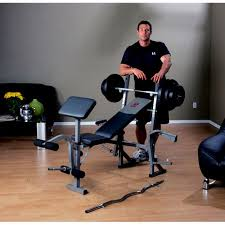 Marcy Standard Weight Bench Review Marcy Standard Bench With 100 Pound Weight Set Walmart Com