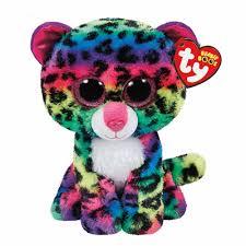 ty beanie boo medium dotty leopard soft toy claire u0027s ca