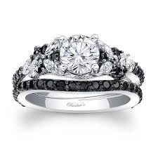 black diamond wedding ring barkev s black diamond bridal set 7950sbk barkev s