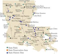 bastrop state park map find parks historic louisiana state parks