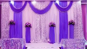 wedding anniversary backdrop 3m 6m sequins edge design fabric satin drape curtain pink
