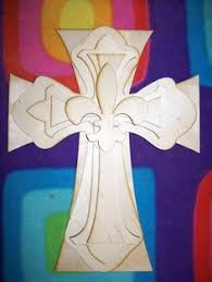 unfinished wood crosses wood cross unfinished wooden crosses stainable paintable crafts part
