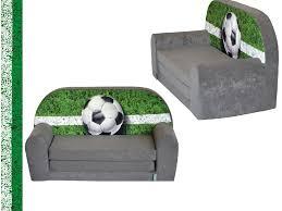 canap pour enfants mini canapé lit enfant foottballfauteuils poufs matelas meubles enfants